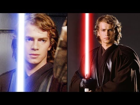 Star Wars Reveals WHY Anakin Didn39t Even Want a RED Lightsaber During Order 66