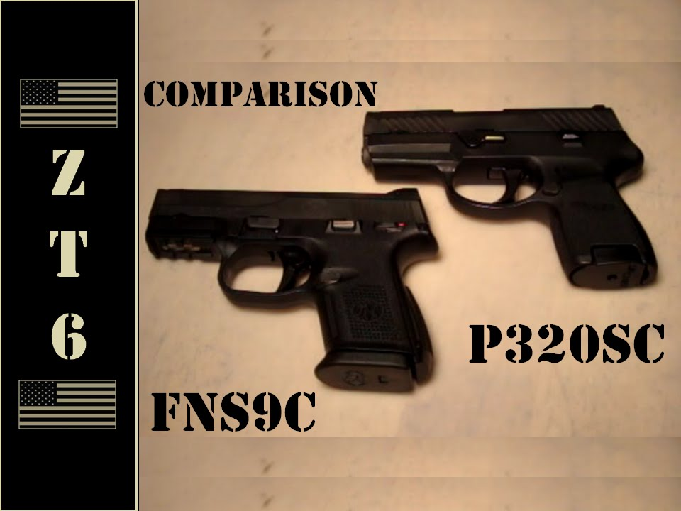 Fns 9mm Compact Fns-9 Compact vs Sig P320