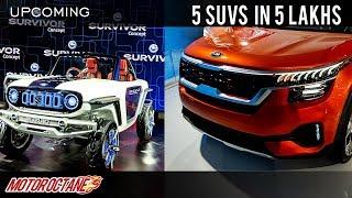 5 SUVs coming in 5 lakhs | Micro SUVs | Hindi | MotorOctane