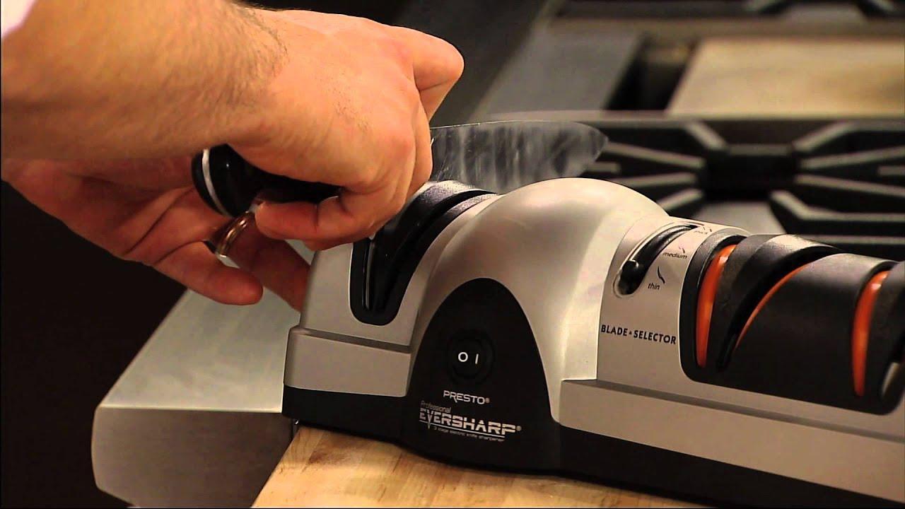 Presto Professional Eversharp Three Stage Electric Knife