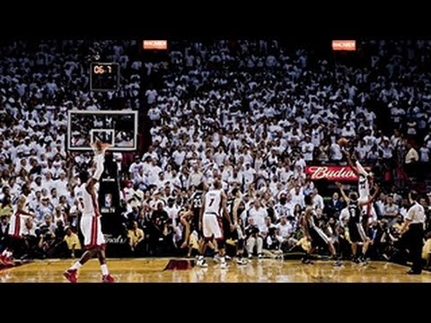 Ray Allen's AMAZING game-tying 3-pointer in Game 6!