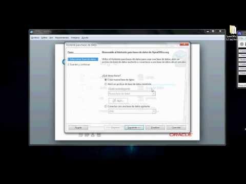 Videotutorial OpenOffice. Hoja de calculo y bases de datos