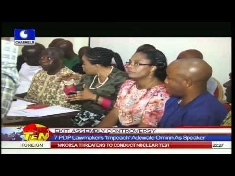 News@10: Lawyer Examines NASS Commotion,Labels It Shameful 20/11/14 Pt.2