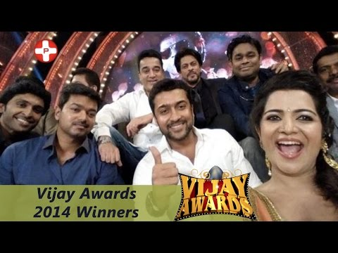 Vijay Awards 2014 Full winners List!