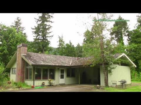 Stay at Beautiful McKenzie River Mountain Resort, in Blue River, OR
