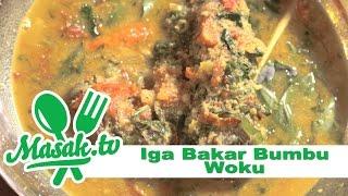 Iga Bakar Bumbu Woku | Resep #158
