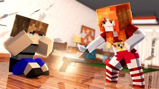 Minecraft Murder: ATAQUE DOS ANIMATRONICS (MURDER) FIVE NIGHTS AT FREDDY