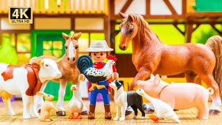 Farm Building for Animals | Toy Farm World Ep3