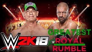 WWE2K18 John Cena x Triple H Greatest Royal Rumble