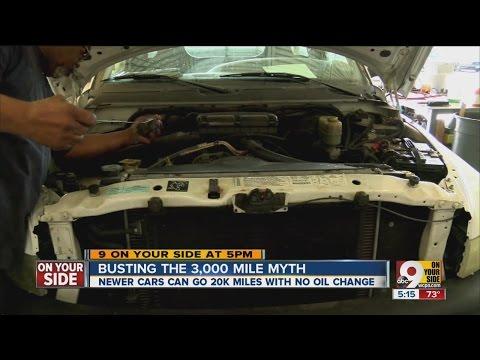 Busting the 3,000 mile oil change myth