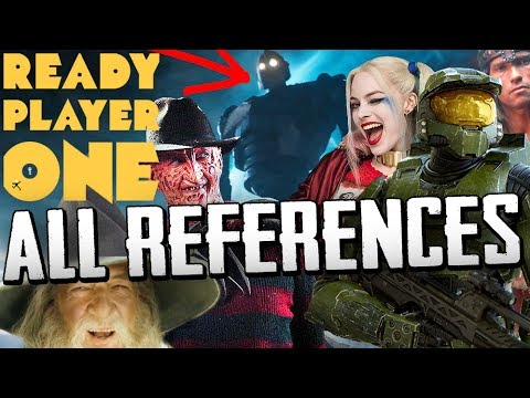 Ready Player One ALL References & Easter Eggs from the Trailer