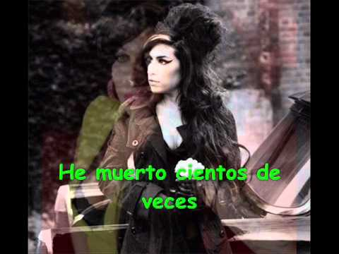 BACK TO BLACK -AMY WINEHOUSE (traducida)
