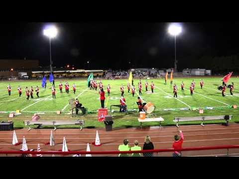 Lakeland Regional High School Band Home Game 10/2/14