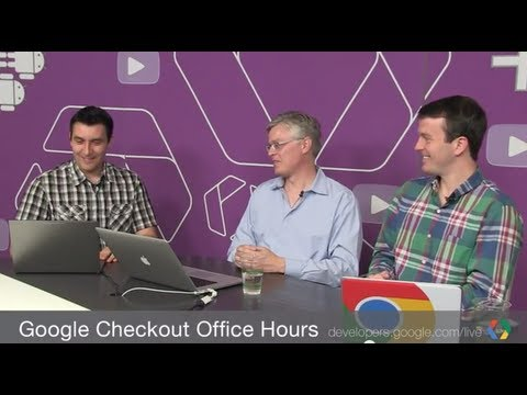 Google Checkout Office Hours