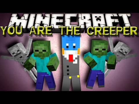 Minecraft Mods - YOU ARE THE CREEPER!! CONTROL A MOB ARMY!!