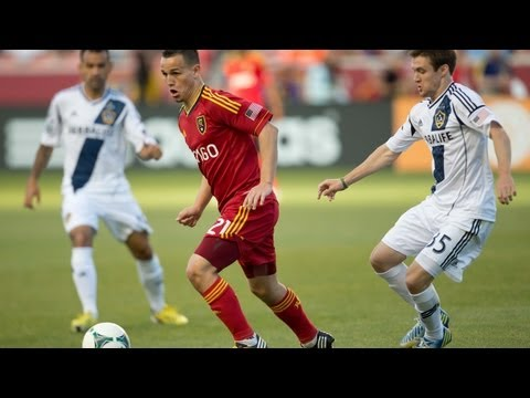 HIGHLIGHTS: Real Salt Lake vs LA Galaxy | April 27, 2013