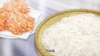 Shokugeki no Soma Season 4 Episode 12 - Kinokuni Senpai Dish Tasting