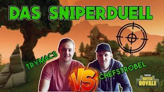 Trymacs vs. Chefstrobel - DAS SNIPERDUELL | Fortnite Battle Royale