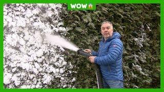 Deze man maakt sneeuw voor de Winterspelen