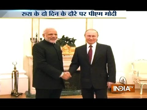 Modi in Russia: PM Modi to Meet President Vladimir Putin, Defense Deals Possible