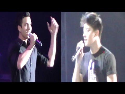 Pinoy Music Festival 2014 (daniel Padilla & Markki Stroem)  Ayala Triangle video