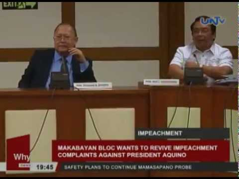 Makabayan Bloc wants to revive impeachment complaints against President Aquino