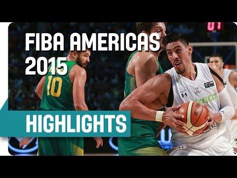 Mexico v Brazil - Game Highlights - Group A - 2015 FIBA Americas Championship