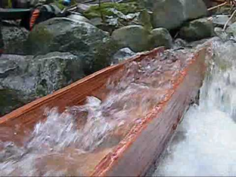 Building a sluice box