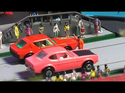 Toy Car Racing  Compilation 32 Matchbox Diecast Toy Cars Retro Collection