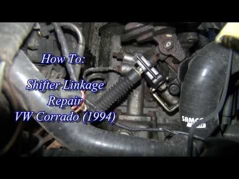 VW Corrado Shifter Linkage Repair
