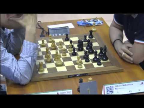 Hao vs Nakamura - 2014 World Blitz Championship