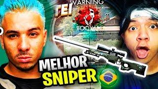 MELHOR JOGADOR DE SNIPER DO FREE FIRE BRASILEIRO - PIUZINHO