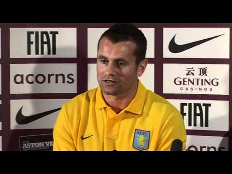 Shay Given delighted to join Aston Villa | English Premier League 2011-2012