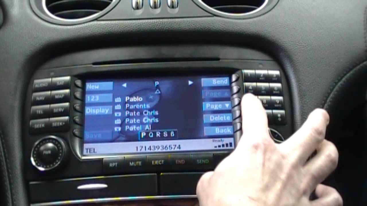 mobridge bluetooth kit in a mercedes benz with command