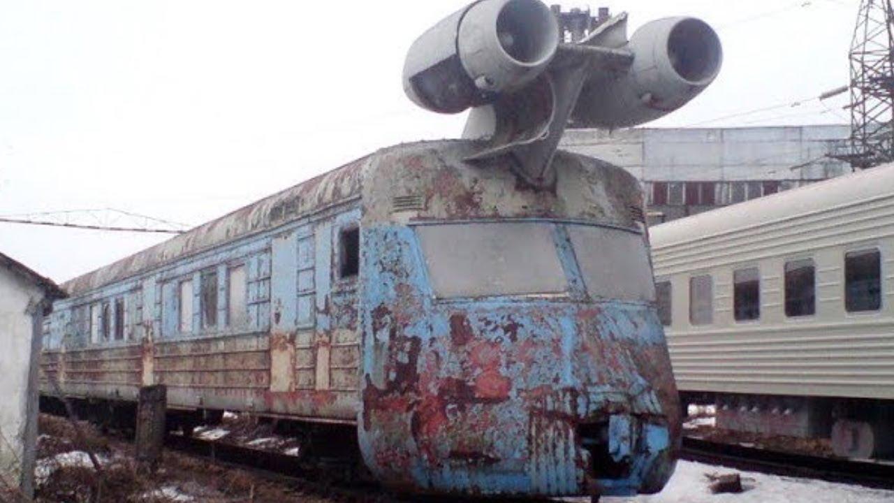 12 Самых Невероятных Заброшенных Поездов