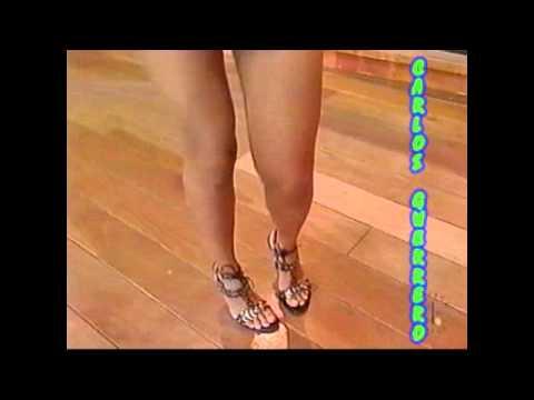 Solo Ingrid Coronado - Riquisima En Vestidito Blanco