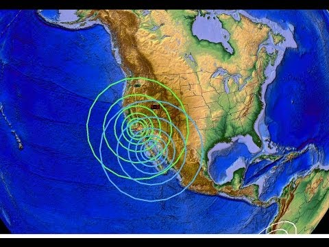 3 22 2014 -- Earthquakes Forecast In Indonesia, California, And Oklahoma All Directly Hit video