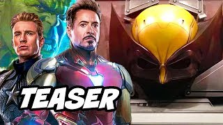 Avengers Phase 4 Wolverine Fantastic Four Teaser - Marvel Phase 4 Breakdown