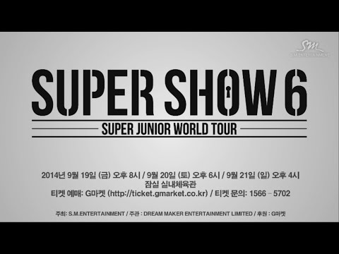 Super Junior World Tour super Show 6 In Seoul video