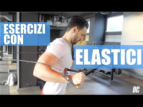 7 Esercizi con ELASTICI Fitness