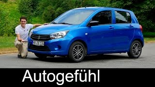 Suzuki Celerio FULL REVIEW test driven new neu 2016/2017 - Autogefühl