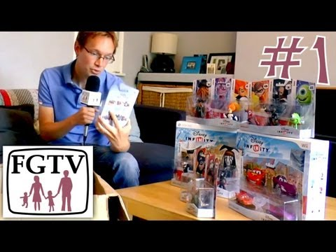 Let's Play Disney Infinity 1 - Unboxing Figures and Play Sets