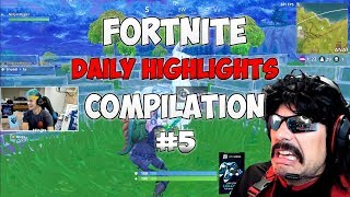 Ninja vs DrDisrespect 1v1 - Fortnite BR Daily Highlights #5