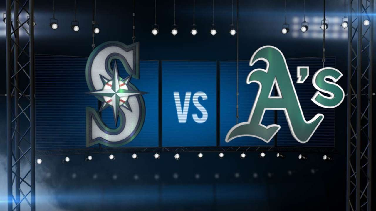 7/2/15: Kazmir dominates Mariners to power A's