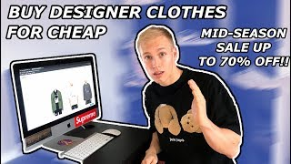 How To Buy Designer Clothes for Cheap | Summer 2019 Sale | Siberia Hills, Off White, A Cold Wall