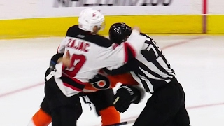 Gotta See It: Big hits, haymakers & misconducts between Flyers & Devils