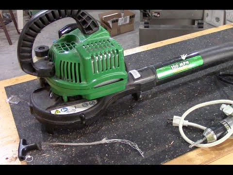 how to put cord on stihl strimmer