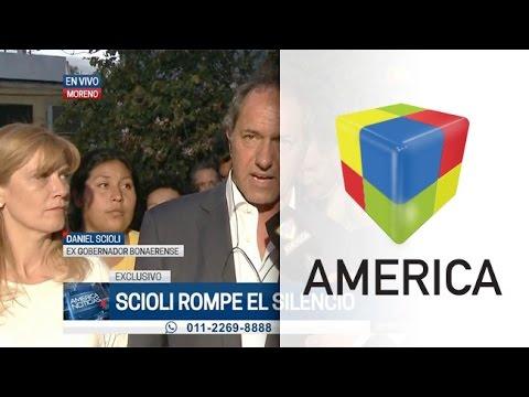 Scioli, sobre la denuncia por su título: Hay intencionalidad de desviar la atención de la gente