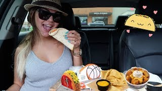 hey let's eat TACO BELL MUKBANG