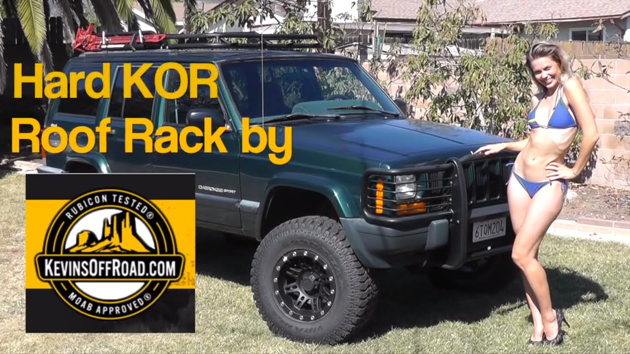 Jeep Cherokee Roof Rack Install By Quot The Newerejk Jeep